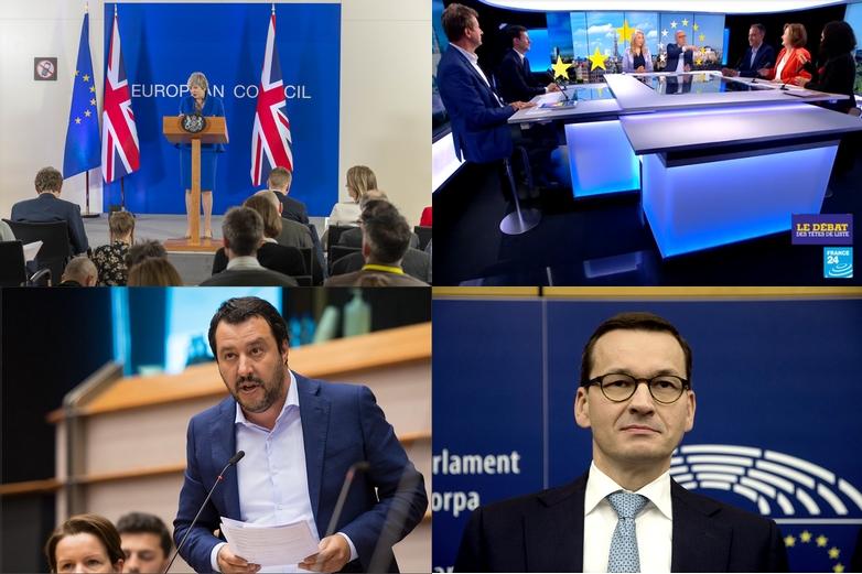 Crédits : Conseil européen 2019 / France 24 / Parlement européen / Wikimedia Commons CC BY-SA 3.0