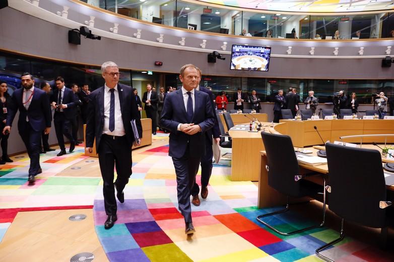 Les Européens se sont prononcés sur un report du Brexit jeudi 21 mars à Bruxelles - Crédits : Conseil européen