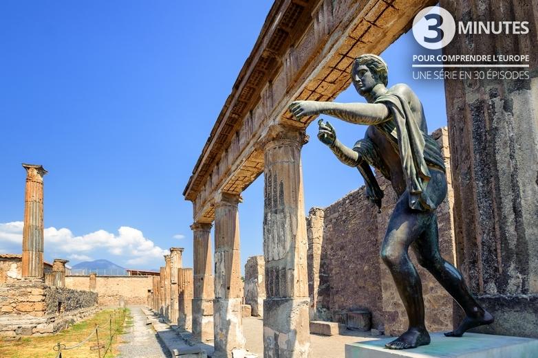 Ruines du temple d'Apollon à Pompéi en Italie - Crédits : Xantana / iStock