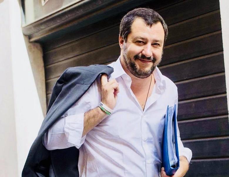 Matteo Salvini, ministre de l'Intérieur italien.