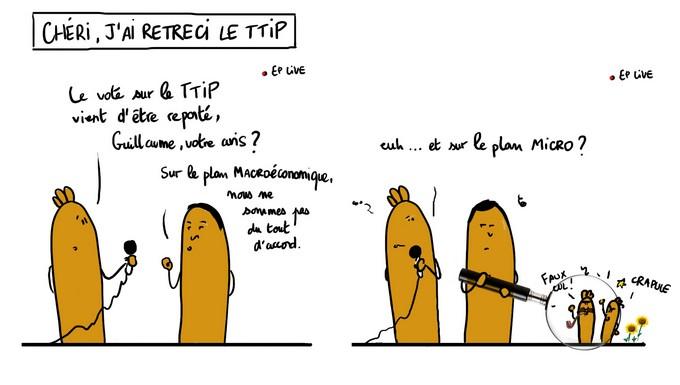 Chéri, j'ai rétréci le TTIP