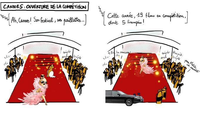 Cannes : ouverture de la compétition