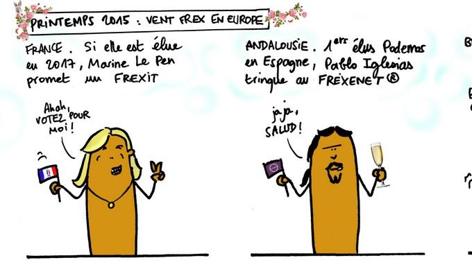 Printemps 2015 : vent frex en Europe