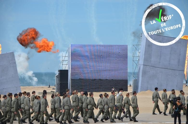 Commémoration du 70e anniversaire du Débarquement, à Ouistreham en 2014 - Crédits : Marie Guitton
