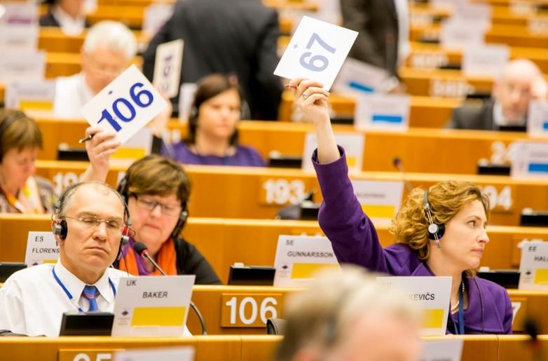 Session plénière au Comité des Régions