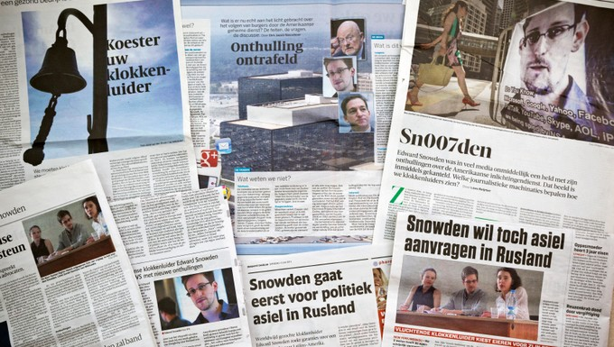 snowden press (c) istock