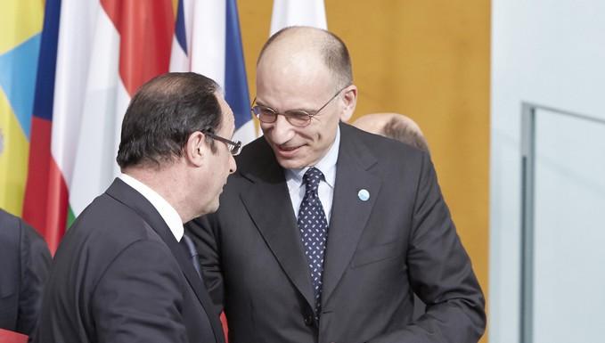 Hollande & Letta