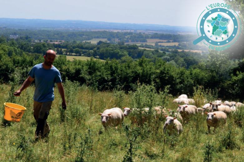 Le stage paysan créatif proposé par la région Centre-Val de Loire et financé par l'Union européenne permet aux agriculteurs de se former et de s'installer dans la région