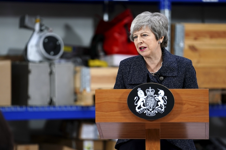 Theresa May - Crédits : Joel Rouse / Flickr CC BY-NC-ND 2.0