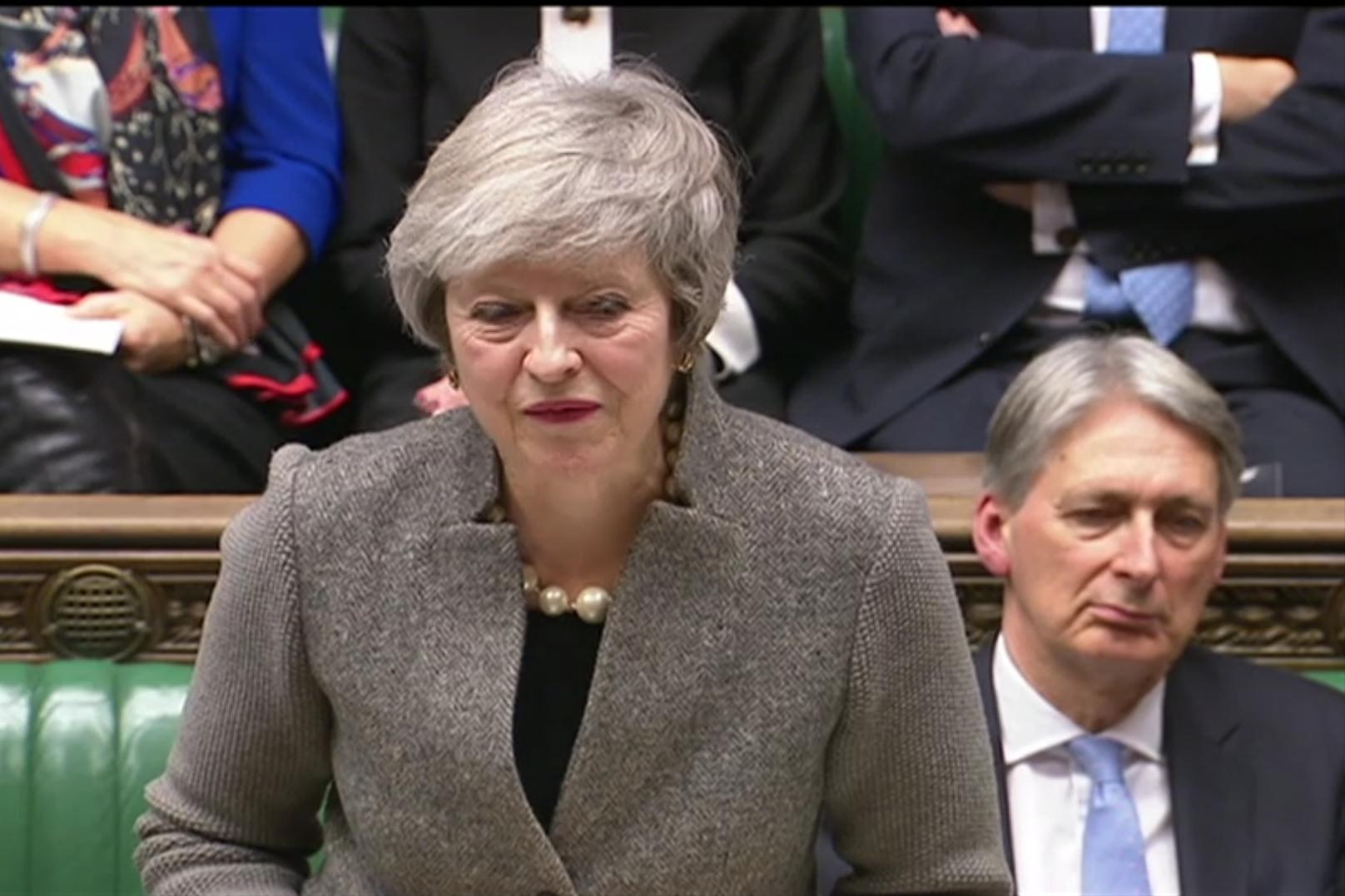 Theresa May - Crédits :  Tiocfaidh ár lá 1916 / Flickr CC BY-ND 2.0