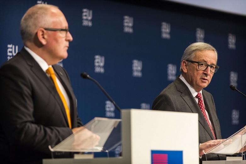 Juncker et Timmermans
