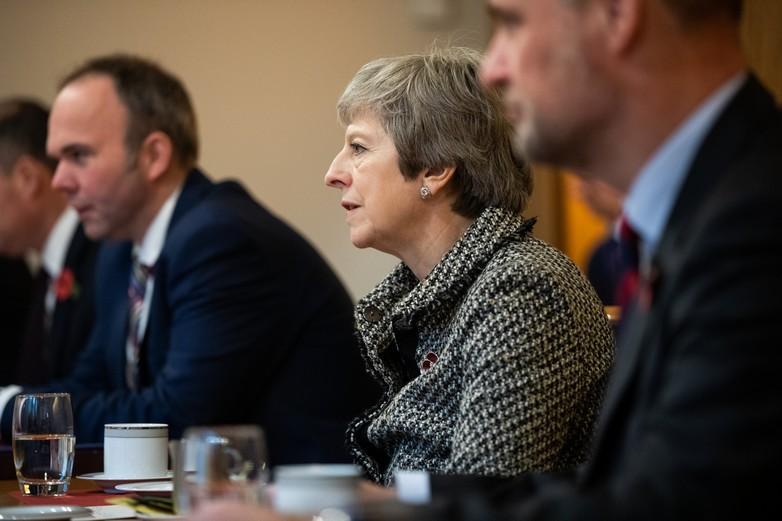 Theresa May a lancé des pourparlers avec les partis d'opposition après avoir remporté la motion de censure - Crédits : Stortinger / Flickr