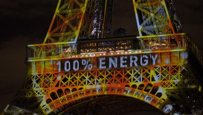 Tour Effeil durant la COP21