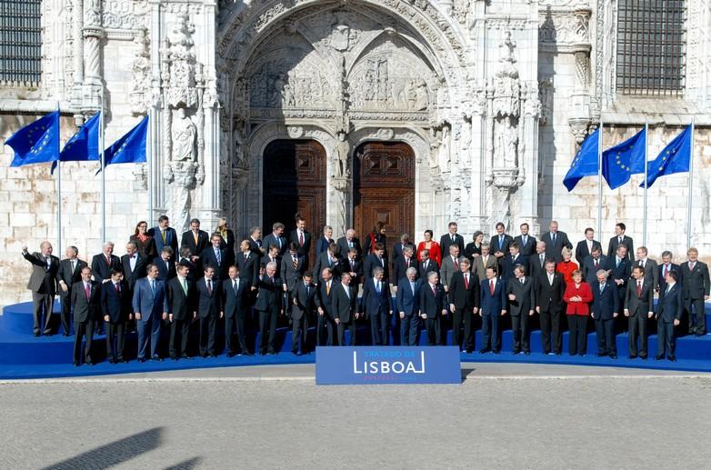 Signature du Traité de Lisbonne