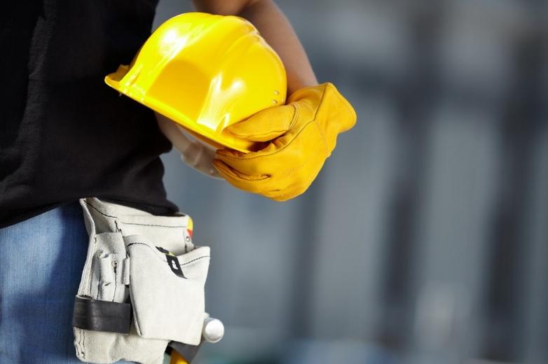 Travailleur dans le secteur de la construction
