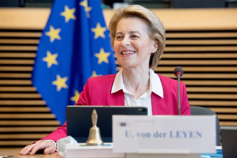 Ce mercredi 27 mai, la présidente de la Commission européenne Ursula von der Leyen présente au Parlement européen sa proposition pour la relance économique de l'UE