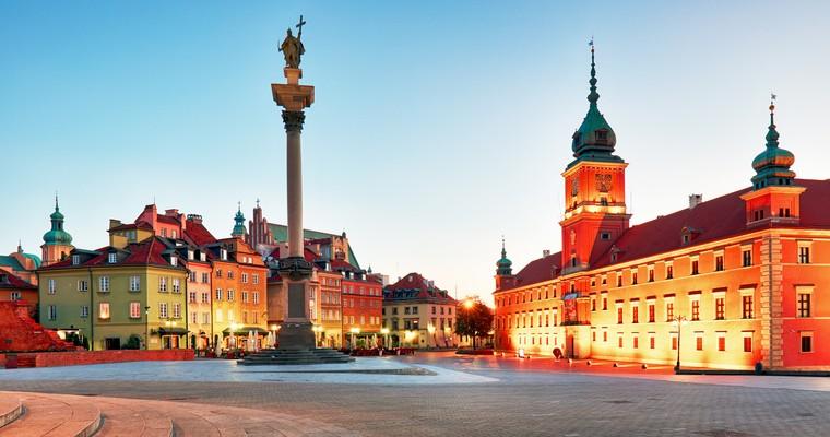 La vielle ville de Varsovie