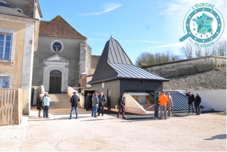 La commune de Venizy, dans l'Yonne, a fait construire une chaufferie à bois dans le cadre de sa politique de transition énergétique