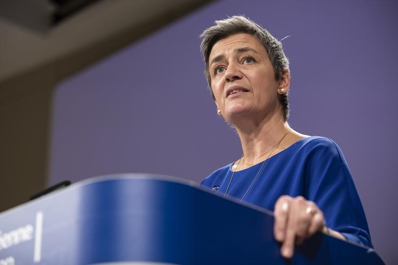 Margrethe Vestager, vice-présidente exécutive désignée pour l'Europe numérique et commissaire à la Concurrence - Crédits : Lukasz Kobus / Commission européenne