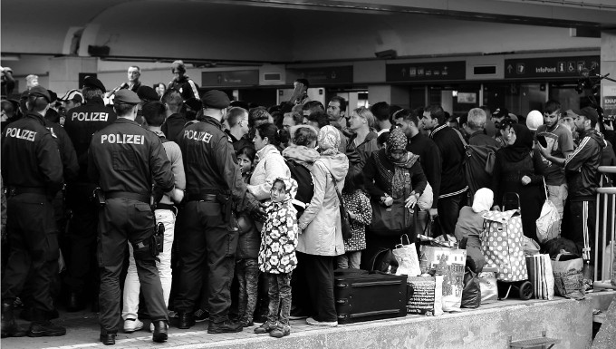 Syrian Refugees in Vienna © Josh Zakary