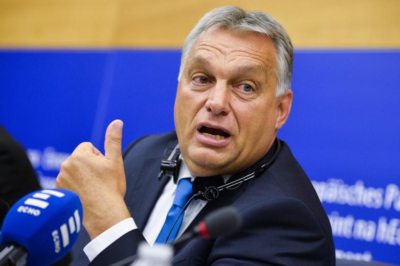 Viktor Orbán - Crédits : Marc Dossmann / Parlement européen