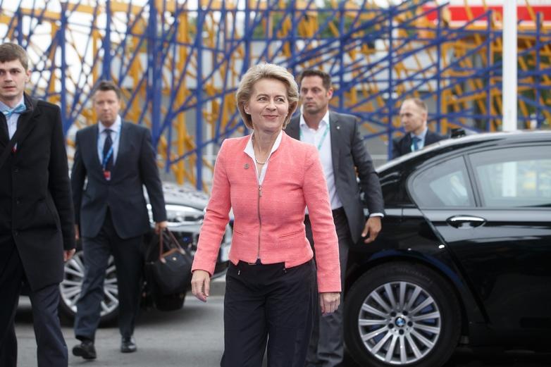 L'Allemande Ursula von der Leyen, choisie pour présider la Commission européenne mardi 2 juillet par les chefs d'Etat et de gouvernement de l'UE - Crédits : Raul Mee / Flickr
