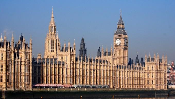 Palais de Westminster, le parlement britannique