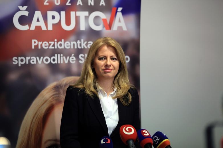 Zuzana Čaputová - Crédits : Slavomír Frešo / Wikimedia Commons CC BY-SA 4.0