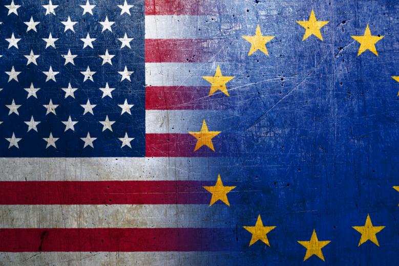 Avec l'élection présidentielle américaine, la relation entre l'Europe et les Etats-Unis est de nouveau en question - Crédits : btgbtg / iStock