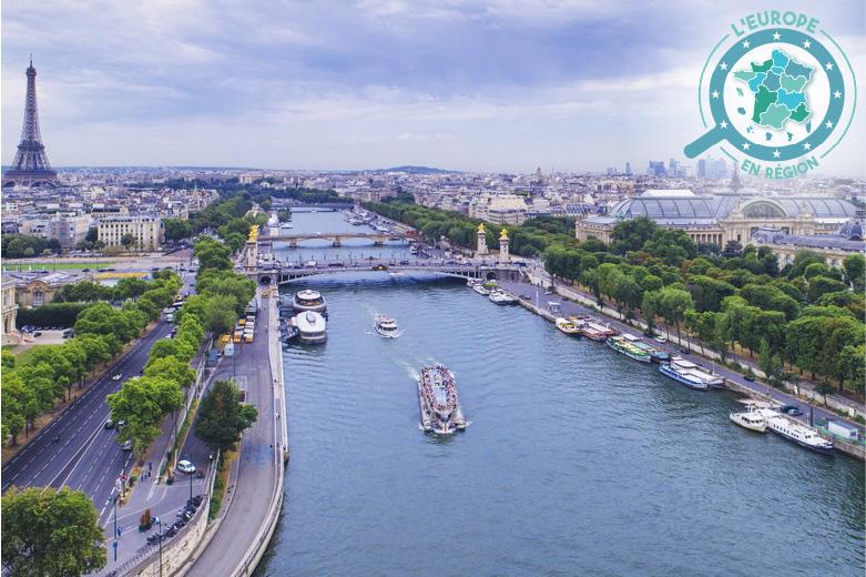 En Île-de-France, les fonds européens permettent de rénover le Bassin de la Seine