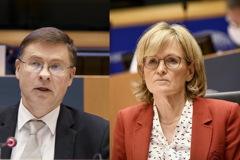 Après avoir été auditionnés par le Parlement européen, Mairead mcGuinness et Valdis Dombrovskis ont été confirmé à leurs nouveaux postes au sein de la Commission européenne