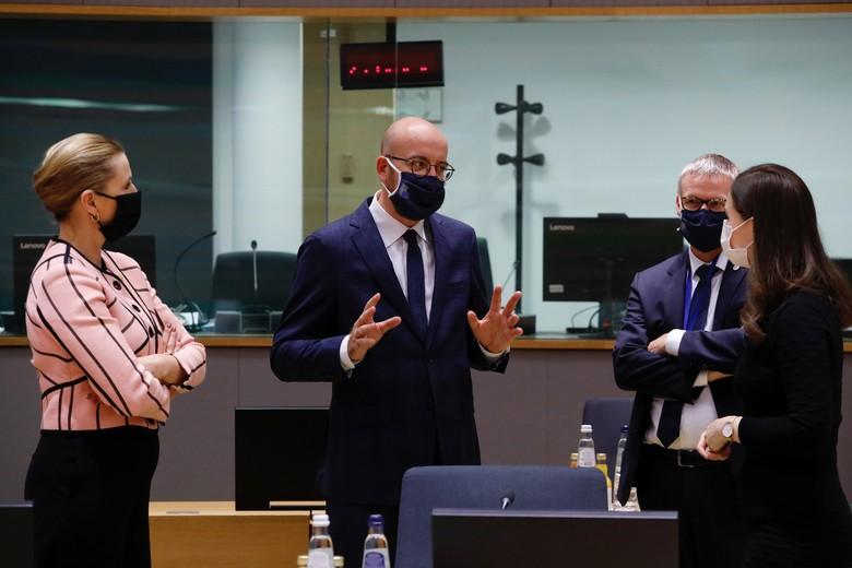 Après une première journée dédiée aux affaire étrangères, les 27 dirigeants de l'UE se retrouvent pour discuter relance économique, coronavirus et état de droit