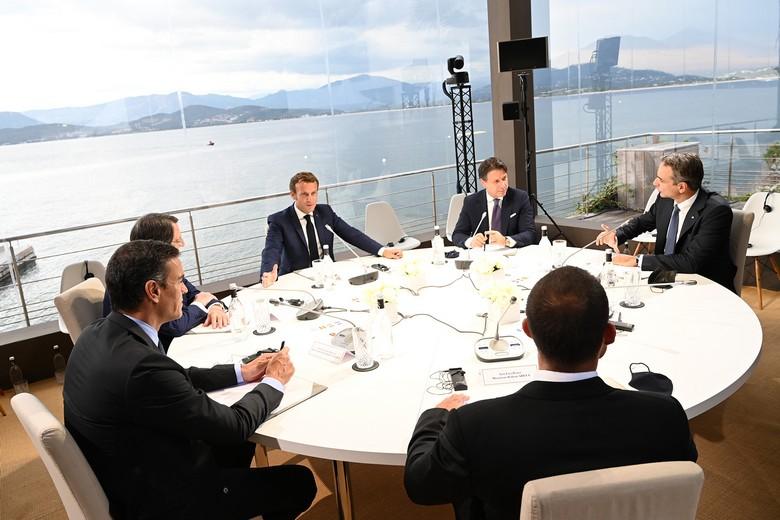 Jeudi 10 septembre, le président français Emmanuel Macron a accueilli les six autres dirigeants des pays de l'Europe du Sud pour adopter une position commune face à la Turquie en Méditerranée orientale