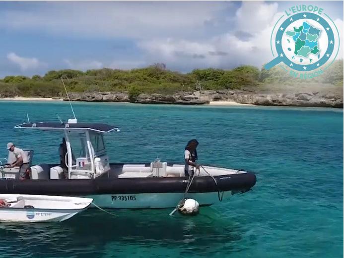 L'association Ti-tè bénéficie d'une aide européenne pour le financement d'études scientifiques menées sur place et pour l'acquisition d'un bateau permettant la mise en œuvre des actions de préservation de la biodiversité sur Petite Terre