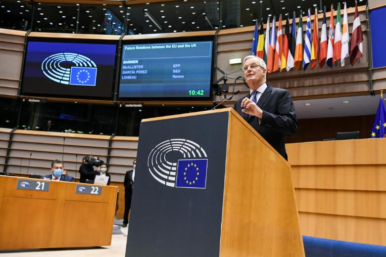 Ce vendredi matin, Michel Barnier présentait au Parlement européen un état des lieux des négociations avec le Royaume-Uni et a notamment insisté sur le peu de temps restant pour conclure un accord