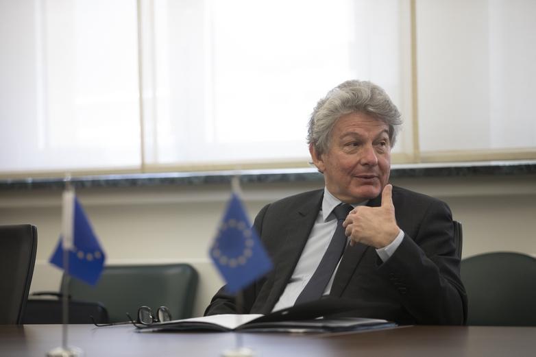 Thierry Breton, commissaire européen responsable du Marché intérieur