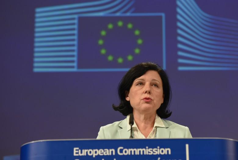 La commissaire européenne Věra Jourová s'est attirée les foudres du Premier ministre Viktor Orbán sur la question de l'état de droit
