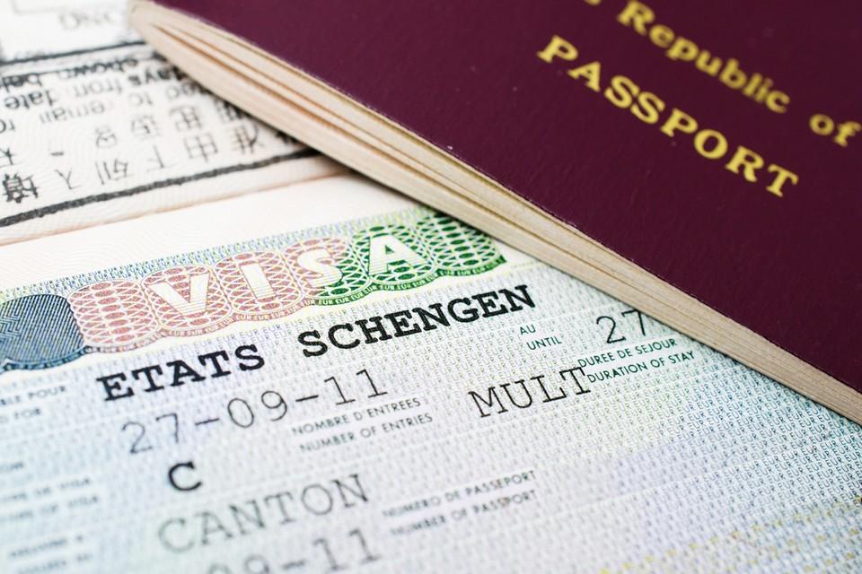 Etats Schengen visa