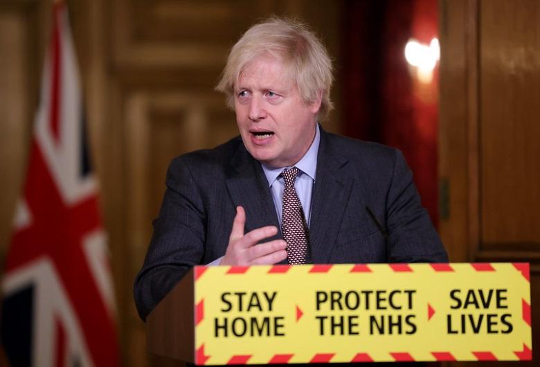 Le 3 février dernier, Boris Johnson a tenu sa première conférence de presse depuis la sortie définitive du Royaume-Uni de l'Union européenne