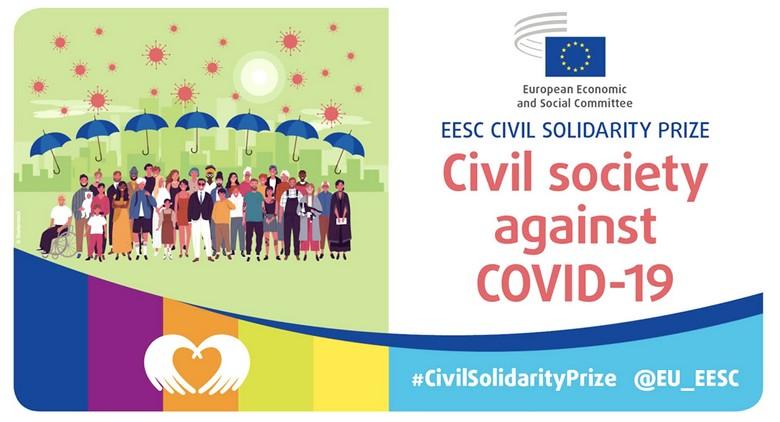 L'organe représentatif de la société civile à Bruxelles a remis le prix de la solidarité civile à 23 projets issus de la société civile européenne