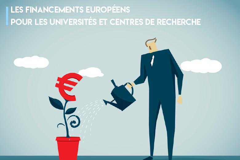 Quels sont les financements européens accessibles aux universités et aux centres de recherche ?