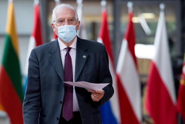 Etant donné les dossiers brûlants dont il a la charge, la visite du haut représentant de l'Union pour les affaires étrangères en Russie est, de son propre aveu,