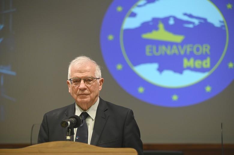 Le chef de la diplomatie de l'UE Josep Borrell a dénoncé les sanctions chinoises à l'encontre de personnalités européennes. Crédits : Marco Zepetella / Commission européenne