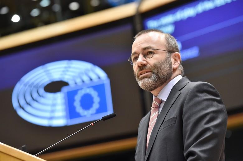 Manfred Weber, président du groupe PPE au Parlement européen