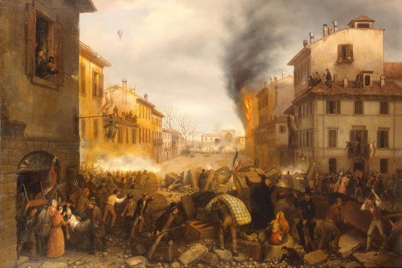 Combats de la porte Tosa à Milan