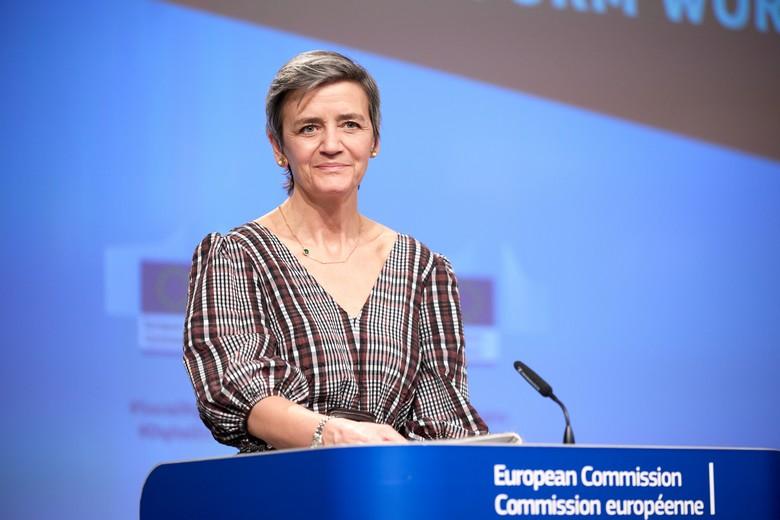 En tant que Vice-présidente de l'exécutif en charge du Numérique et de la Concurrence, Margrethe Vestager occupe un poste stratégique à la Commission européenne - Crédits : Claudio Centonze / Commission européenne