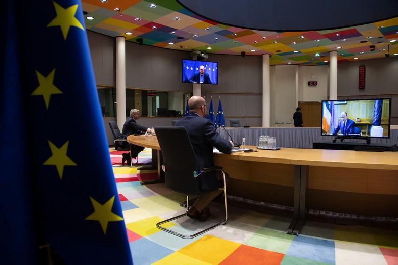 Les dirigeants européens se réunissent jeudi 25 et vendredi 26 février pour un sommet extraordinaire par visioconférence
