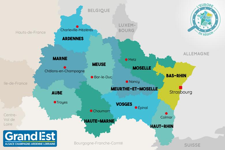 L'Europe en région : le Grand Est