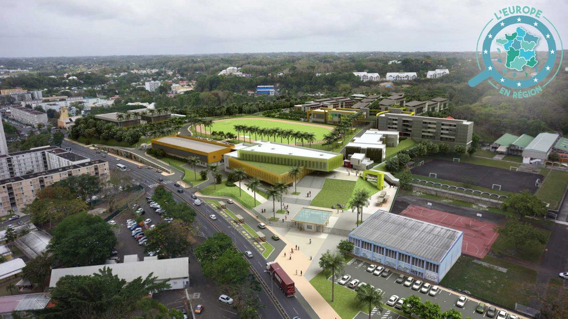 Le projet final, livré d'ici la fin d'année 2022, comportera également un nouveau complexe sportif