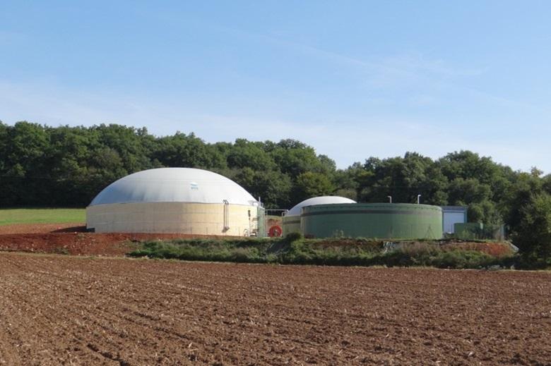 Les unités de méthanisation, ici dans le Lot, permettent la production de biogaz